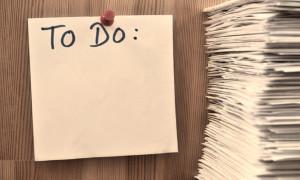 Une liste TODO peut vous aider à organiser votre gestion administrative