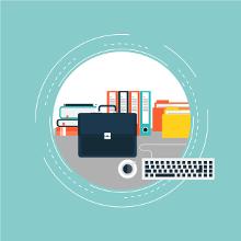 Des professionnels vous aident dans la création de vos dossiers !