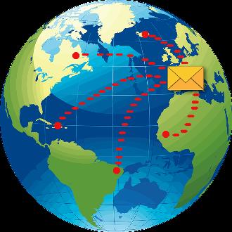 Gérez votre courrier où que vous soyez dans le monde !